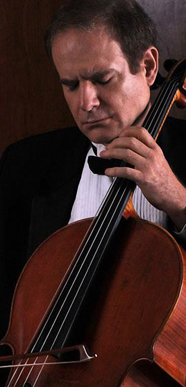 Cellist James Kreger